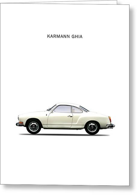 The Karmann Ghia Greeting Card