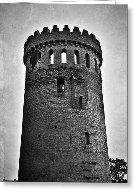 The Keep At Nenagh Castle In Nenagh Ireland Greeting Card