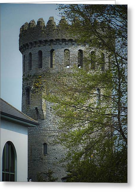 The Keep At Nenagh Castle Ireland Greeting Card