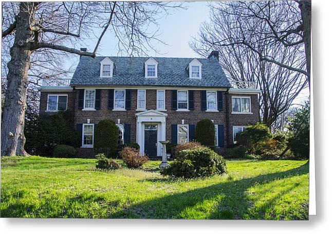 The Kelly Home - East Falls - Philadelphia Greeting Card