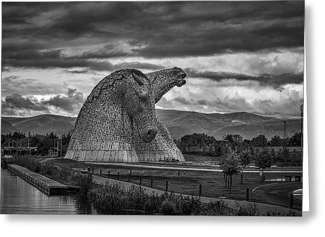 The Kelpies. Greeting Card
