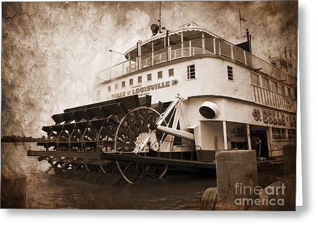The Kentucky Belle Of Louisville  Greeting Card