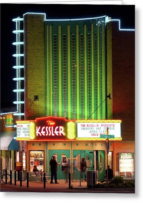 The Kessler V2 091516 Greeting Card