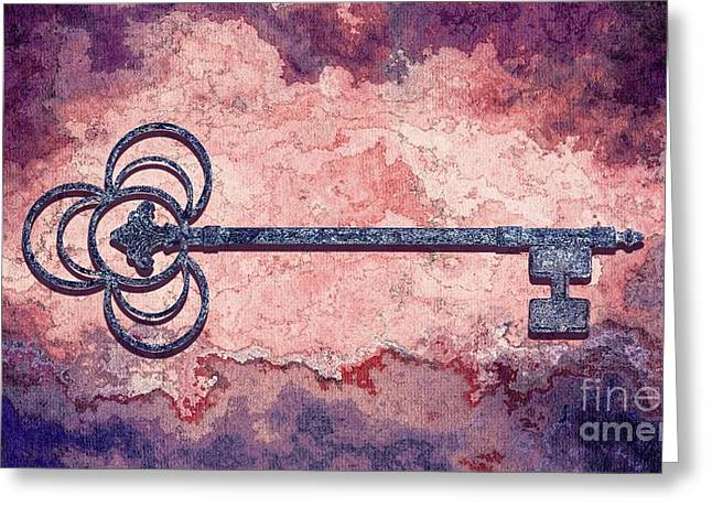 The Key - 01at-c02 Greeting Card