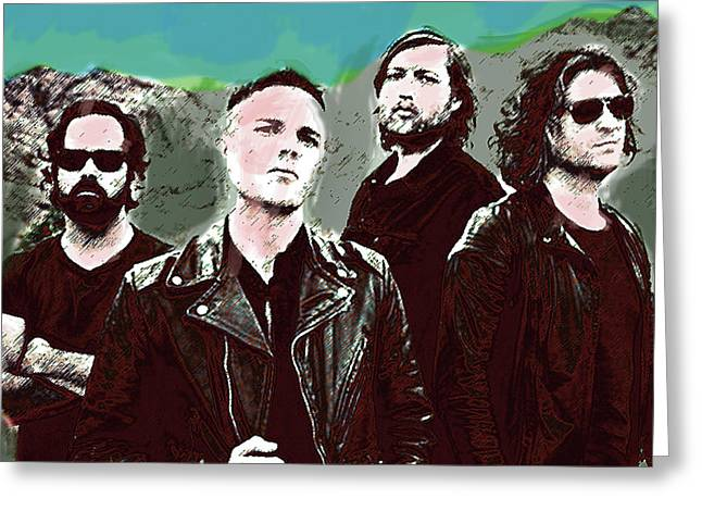 The Killers  Greeting Card