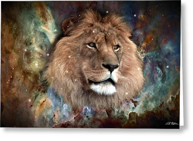 The King Greeting Card by Bill Stephens