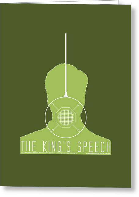The King's Speech Greeting Card by Gimbri