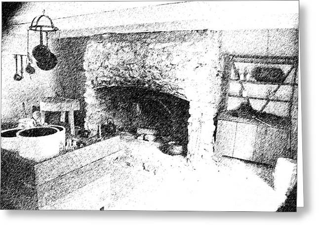 Greeting Card featuring the photograph The Kitchen by Ken Frischkorn