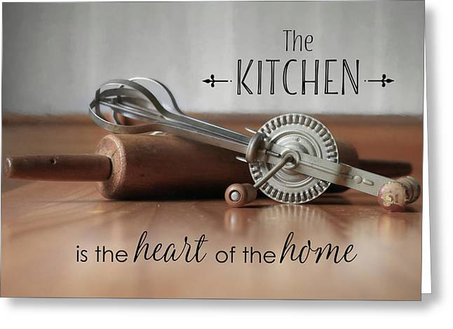 The Kitchen Greeting Card