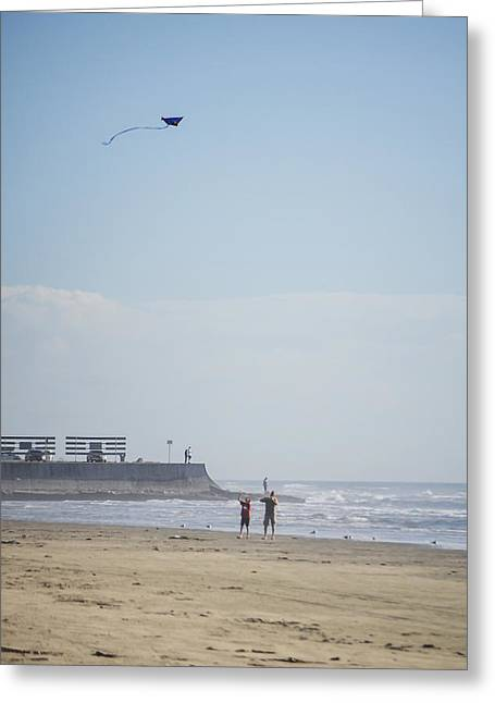 The Kite Fliers Greeting Card