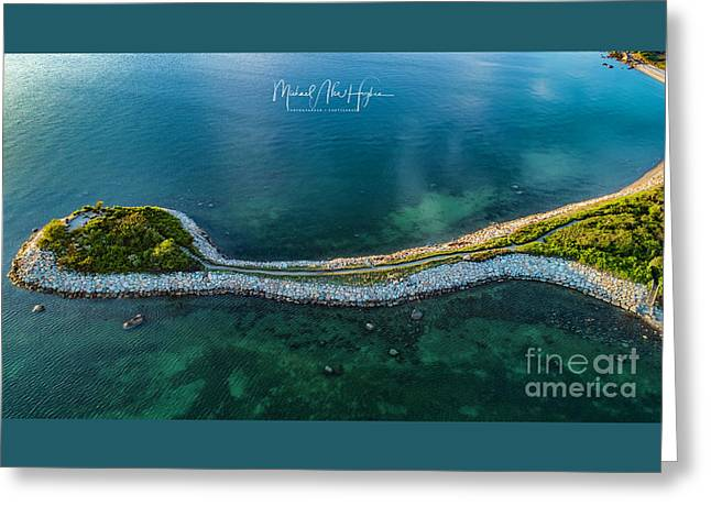 Greeting Card featuring the photograph The Knob by Michael Hughes
