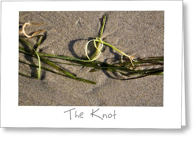The Knot Greeting Card by Peter Tellone
