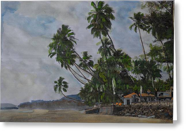 The Konkan Coastline Greeting Card