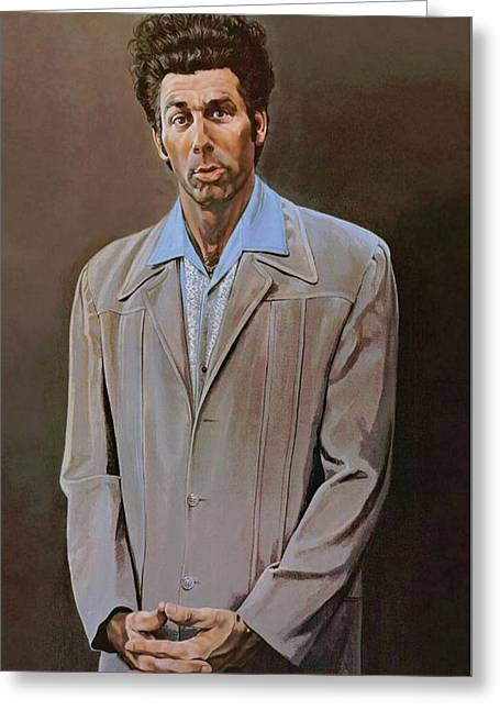 The Kramer Portrait  Greeting Card