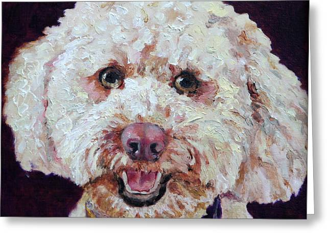 The Labradoodle Greeting Card