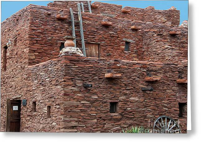 The Ladders Of The Hopi House Greeting Card by Kirt Tisdale