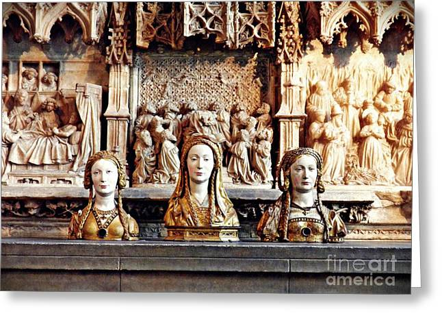 The Ladies On The Altar Greeting Card by Sarah Loft