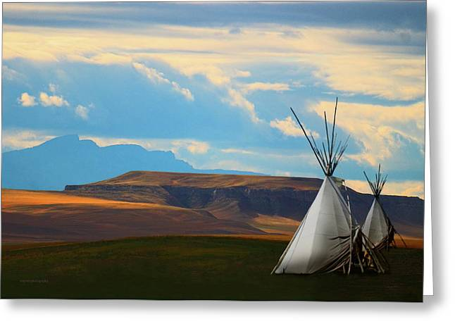 Ron Jones Greeting Cards - The Last Camp Greeting Card by Ron Jones