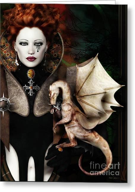 The Last Dragon Greeting Card