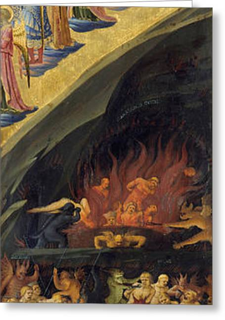 The Last Judgement, Right Wing Greeting Card