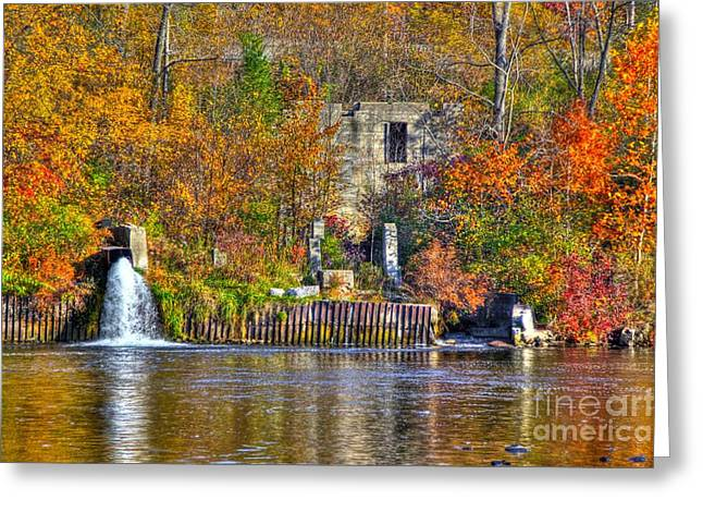 The Last Of The Old Mill Greeting Card