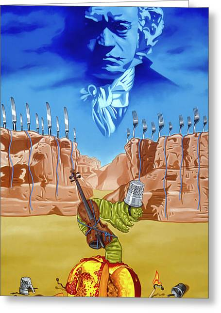 The Last Soldier An Ode To Beethoven Greeting Card