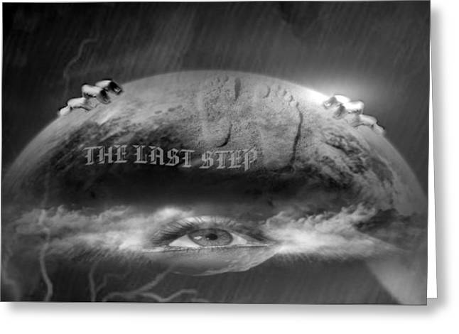 The Last Step Greeting Card by Maria Datzreiter