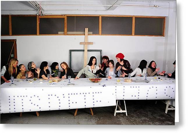 Last Supper Greeting Cards - The Last Supper1 Greeting Card by Tom Callan