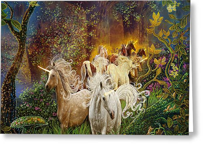 The Last Unicorns Greeting Card