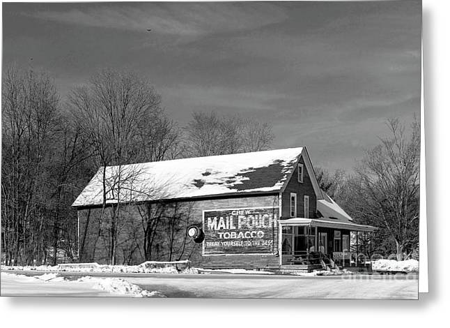 The Layton Country Store Greeting Card by Nicki McManus