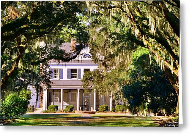 The Legare-waring House At Charles Town Landing Greeting Card