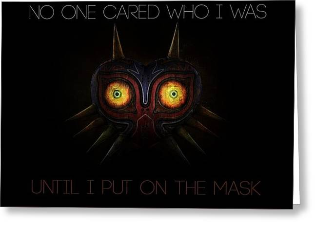 The Legend Of Zelda Majora's Mask Greeting Card