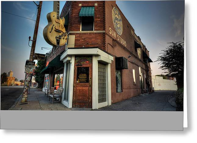 The Legendary Sun Studio 002 Greeting Card by Lance Vaughn
