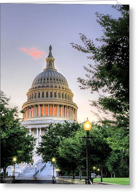 The Legislative Branch Greeting Card by JC Findley