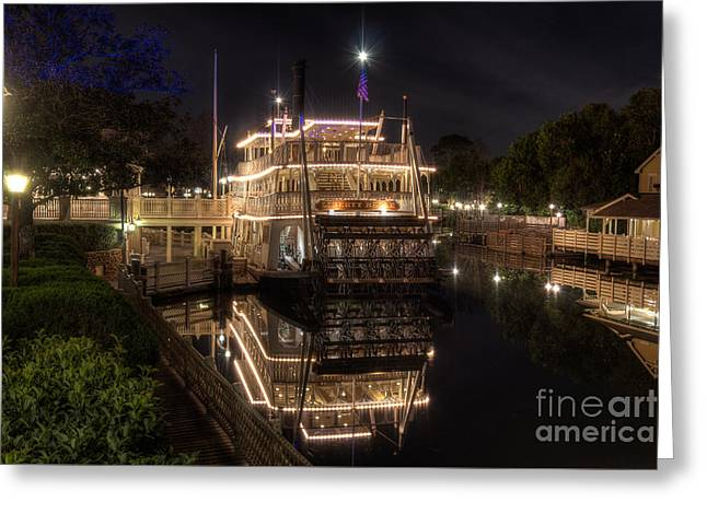 The Liberty Belle Greeting Card