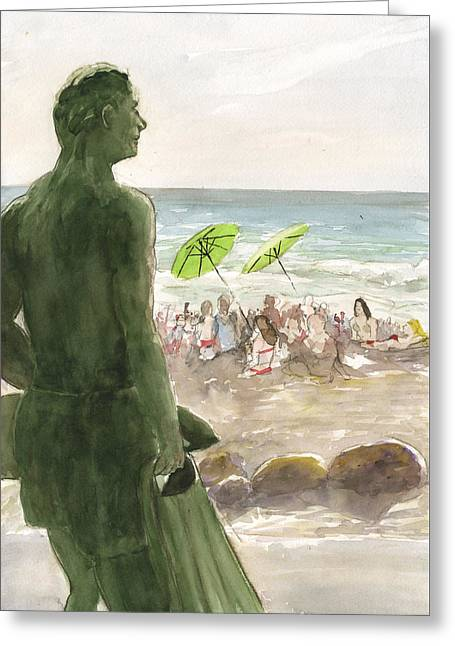The Lifeguard Greeting Card