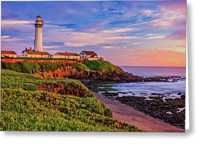 Greeting Card featuring the photograph The Light Of Sunset by John Hight