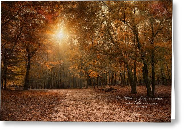 Greeting Card featuring the photograph The Light by Robin-Lee Vieira