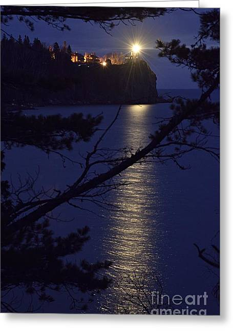 Greeting Card featuring the photograph The Light Shines Through by Larry Ricker