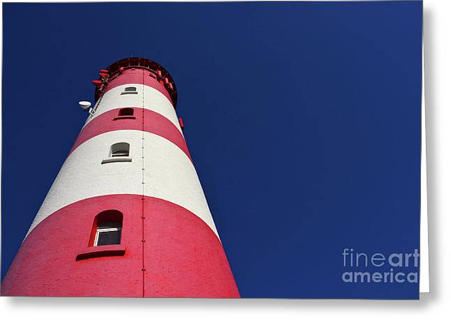 The Lighthouse Amrum Greeting Card