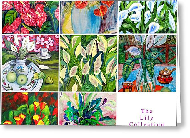 The Lily Collection Greeting Card