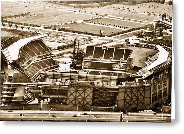 The Linc - Aerial View Greeting Card by Bill Cannon