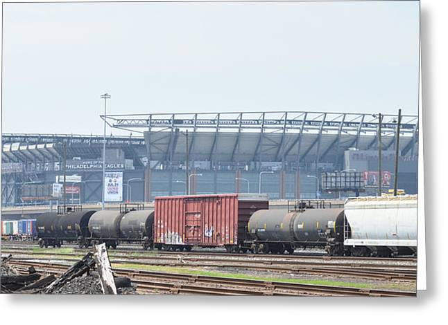 The Linc From The Other Side Of The Tracks Greeting Card by Bill Cannon
