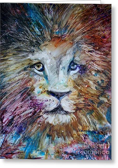 The Lion Greeting Card