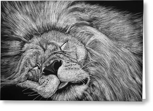 The Lion Sleeps Tonight Greeting Card
