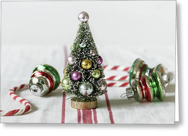 Greeting Card featuring the photograph The Little Christmas Tree by Kim Hojnacki