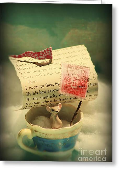 The Little Dreamer Greeting Card by Aimee Stewart