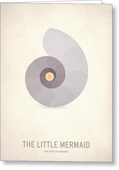 The Little Mermaid Greeting Card by Christian Jackson