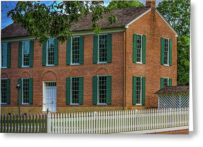 The Little Red Schoolhouse  Greeting Card by Barry Jones