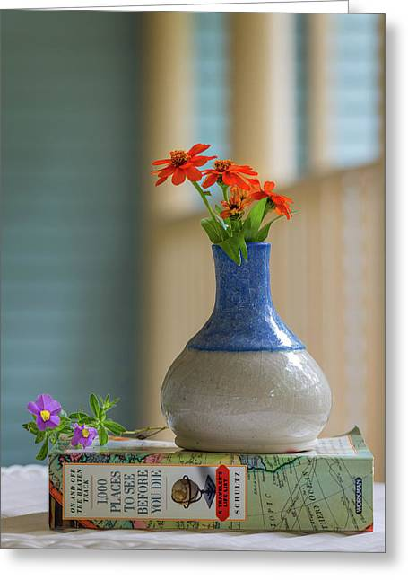The Little Vase Greeting Card